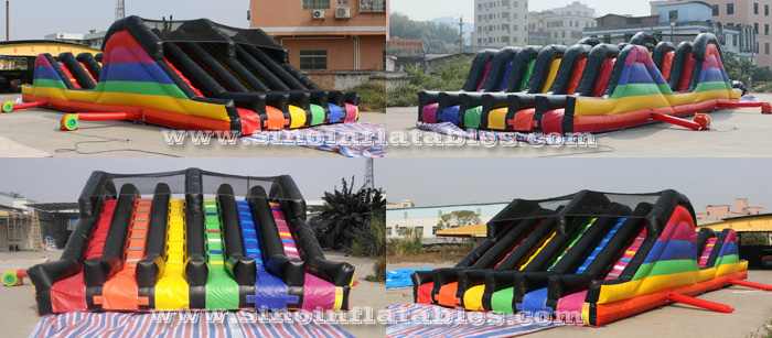 adults inflatable obstacle course