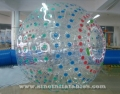 Indoor person roll inside inflatable zorb ball