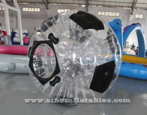 géant clair de football gonflable de zorb soccer ball
