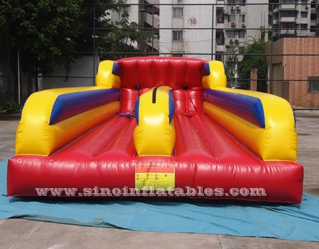 double lane inflatable bungee run
