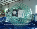 Giant grass rolling inflatable human hamster ball