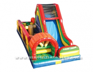 obstacle gonflable commercial multifonctionnel d'enfants