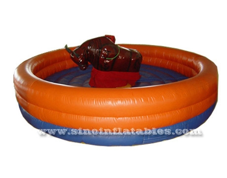 children N adults inflatable rodeo bull rides