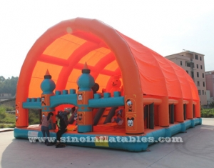 plus grand parc d'attractions gonflable pour enfants