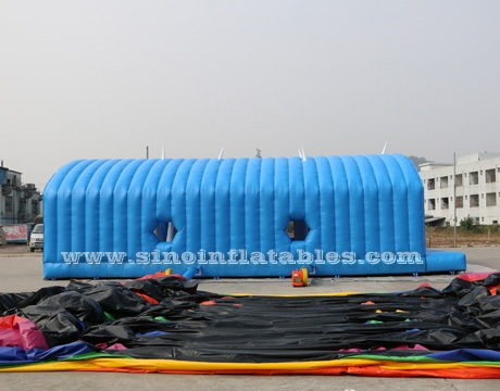 big tunnel tent adults inflatable obstacle course