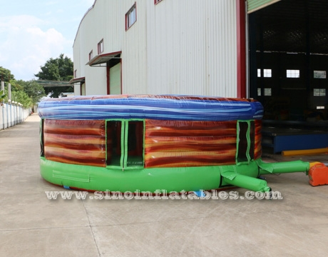 crazy human giant inflatable whack a mole game