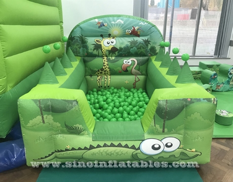 kids inflatable ball pit