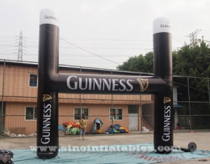 grand arc publicitaire gonflable guinness