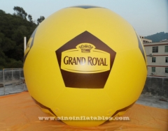 ballon royal d'hélium gonflable publicitaire royal