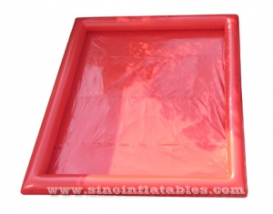 rectangle rouge enfants n adultes grande piscine gonflable