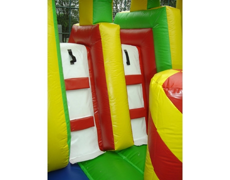 dream castle kids inflatable bouncy castle with slide