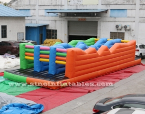 gonflables adultes 5K course d'obstacle