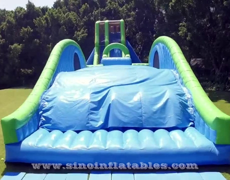 adults giant inflatable dropkick water slide