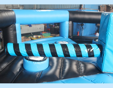duck N jump inflatable meltdown game