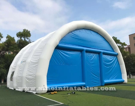 big airtight inflatable wedding party tent