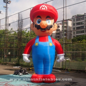 big gonflable super mario