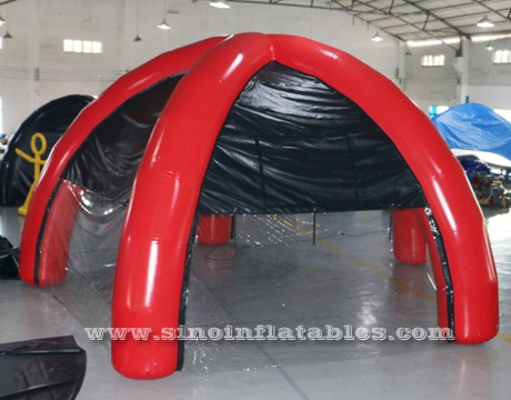 portable advertising inflatable spider dome tent