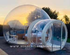 Clear Lodge Gonflable Bubble Hotel