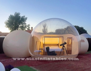 Hotel Bubble Lodge Clear Gonflable