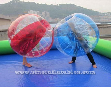 Zorbing gonflable
